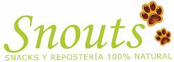Snouts, snacks y repostería 100%natural canina
