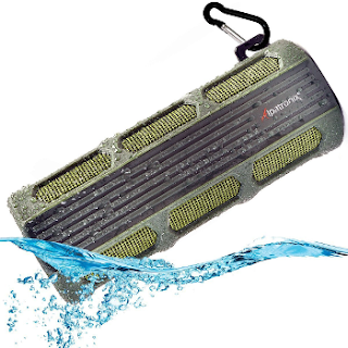Top waterproof Bluetooth hiking speaker - Alpatronix AX410
