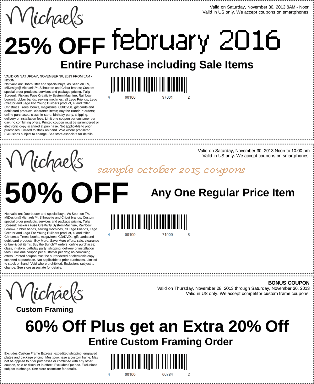 Michaels com coupon / Wordpress coupon code