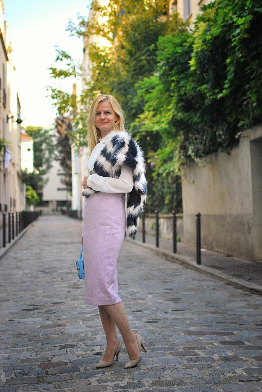 модный лук осень 2015,стрит стайл Париж