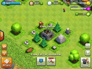 Tips: Cara membangun Castle Clan di Clash of Clans COC