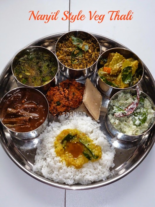 Nanjil Veg Thali