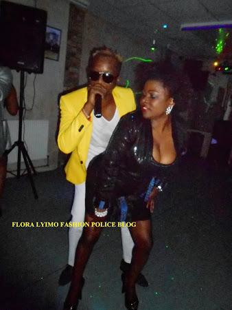 FLORA LYIMO & TID TOPBAND IN LONDON 29/06/2013 MNYAMA UNYAMANI'MBUTA NANGA!