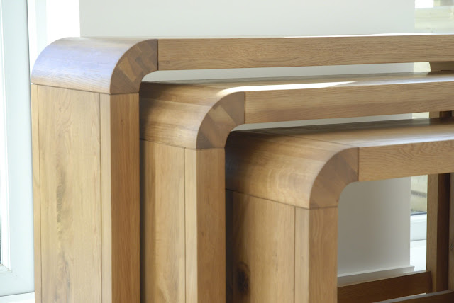 Ellipse Oak range from Furniture123