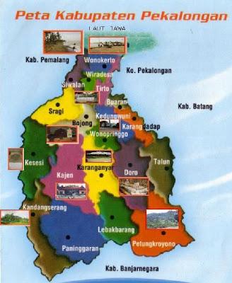 Peta Wisata Pekalongan