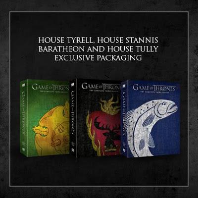 portadas dvd tyrell tully corazón llameante - Juego de Tronos en los siete reinos