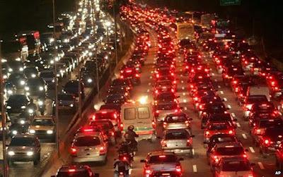 Daftar Kota Yang Mengalami Kemacetan Terparah di Dunia