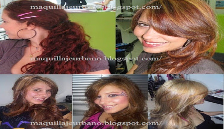 cambio de color de cabello