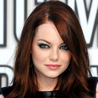 Emma Stone Auburn Hair Color