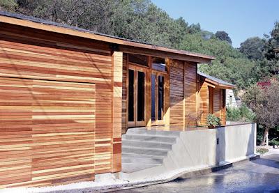 casa hecha en madera