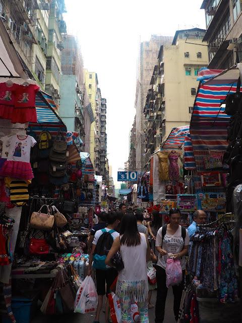 Ladies Market, Mong Kok, Kowloon, Hong Kong