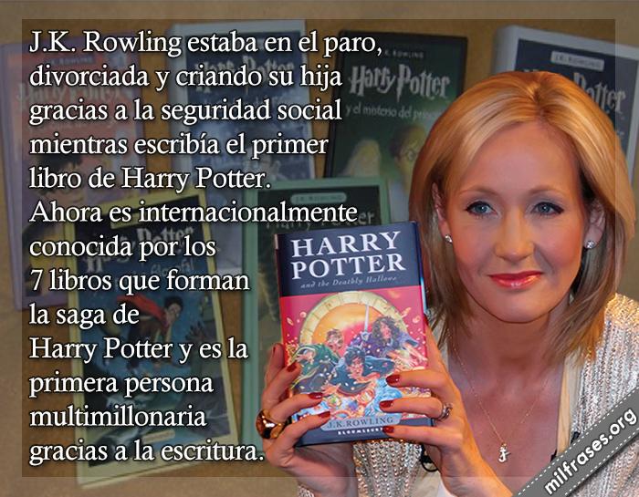 historias de motivaciones y superación personal, J. K. Rowling escritora inglesa, fracasos de famosos de la historia