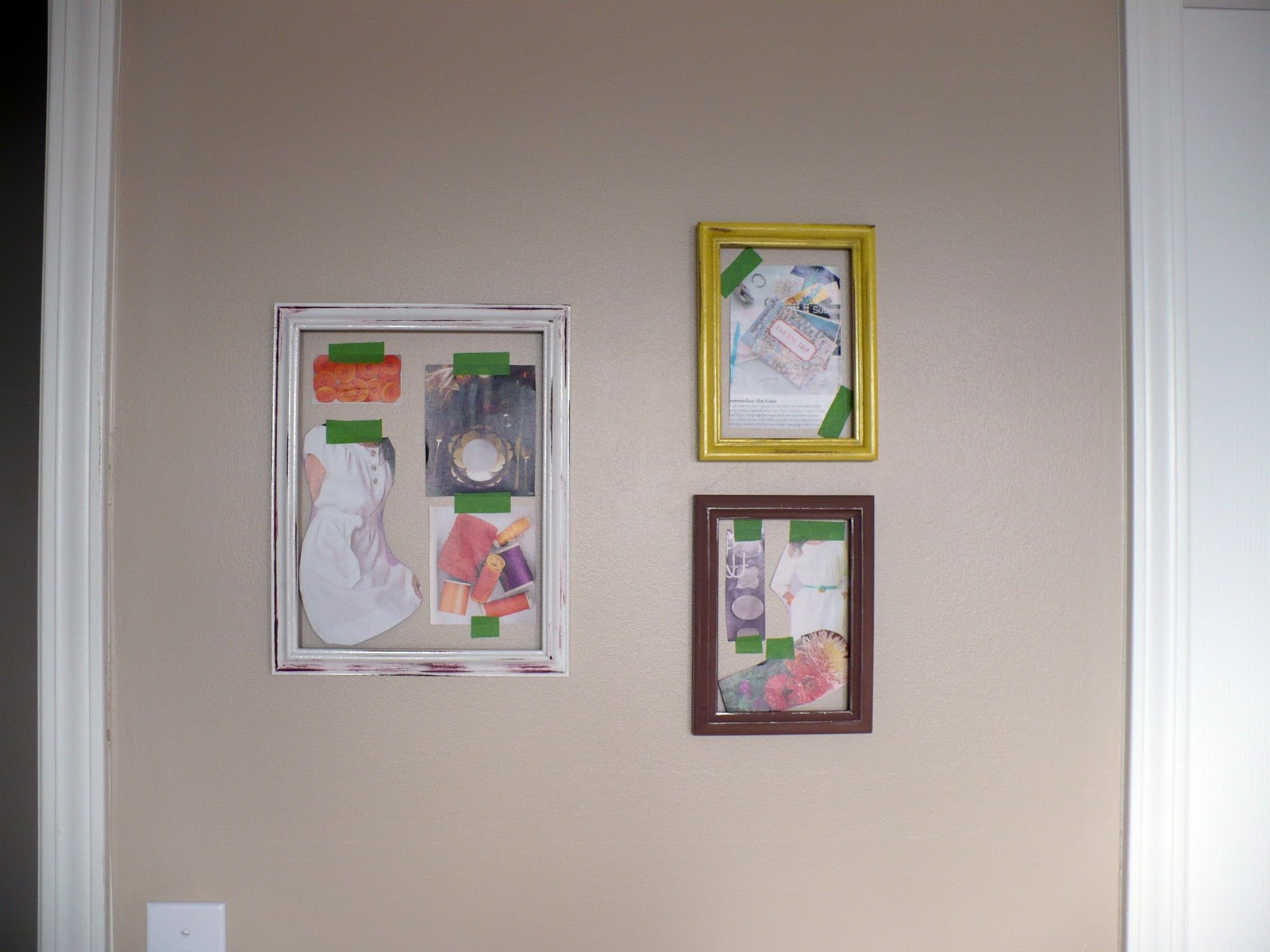 The Polka-Dot Umbrella: Inspiration Frames