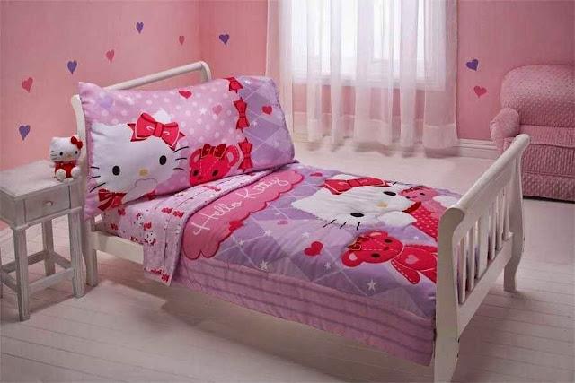 Foto kamar Hello Kitty terbaru