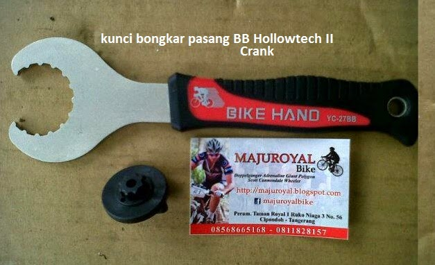 kunci bb crank hollowtech II