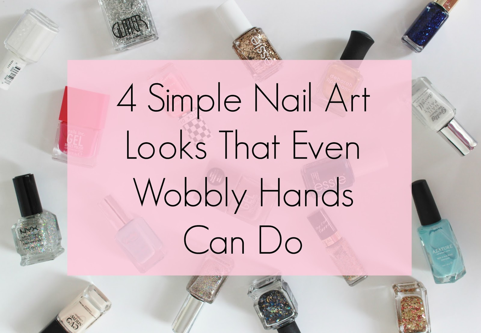 simple nail art looks that even wobbly hands can do