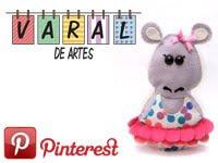 Varal de Artes no Pinterest