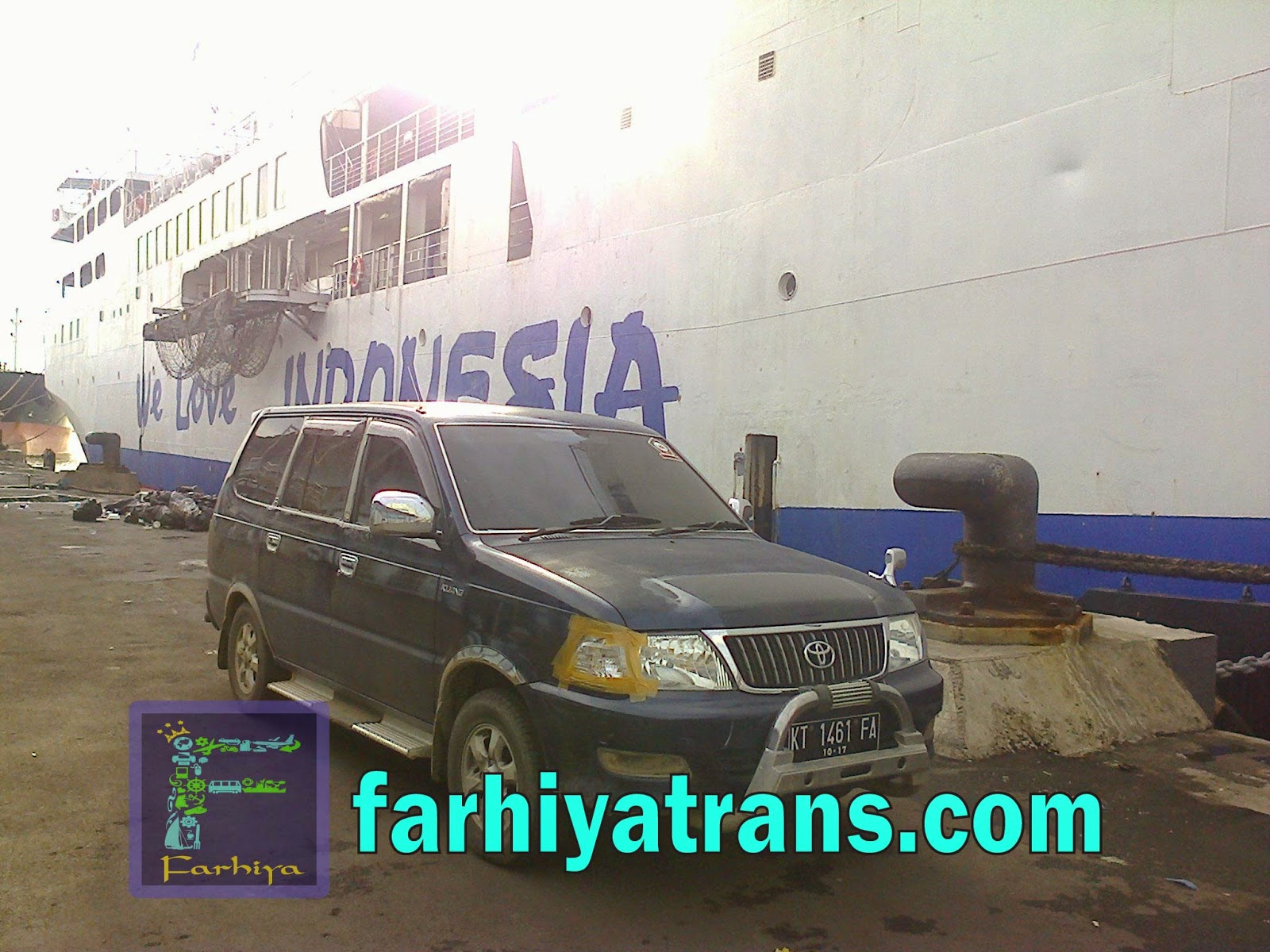 kirim kendaraan kapal laut