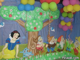 Snow White Decoration for Children Parties