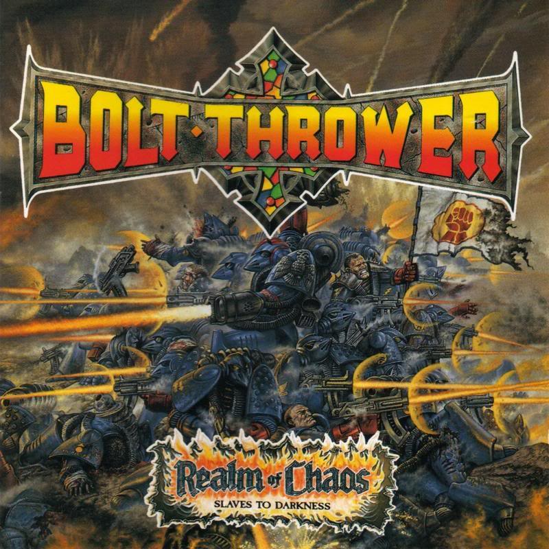 total satan anarchy: Bolt Thrower - Realm of chaos
