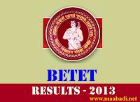 BETET results 2013