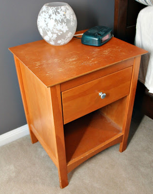 "nightstand ""before"""