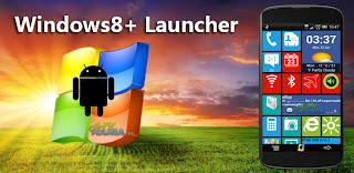 Windows 8 +Launcher v1.5.1 Apk