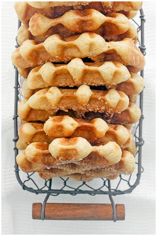 Liege Waffles (adapted from here )
