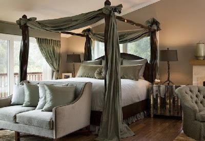 cama matrimonial dosel
