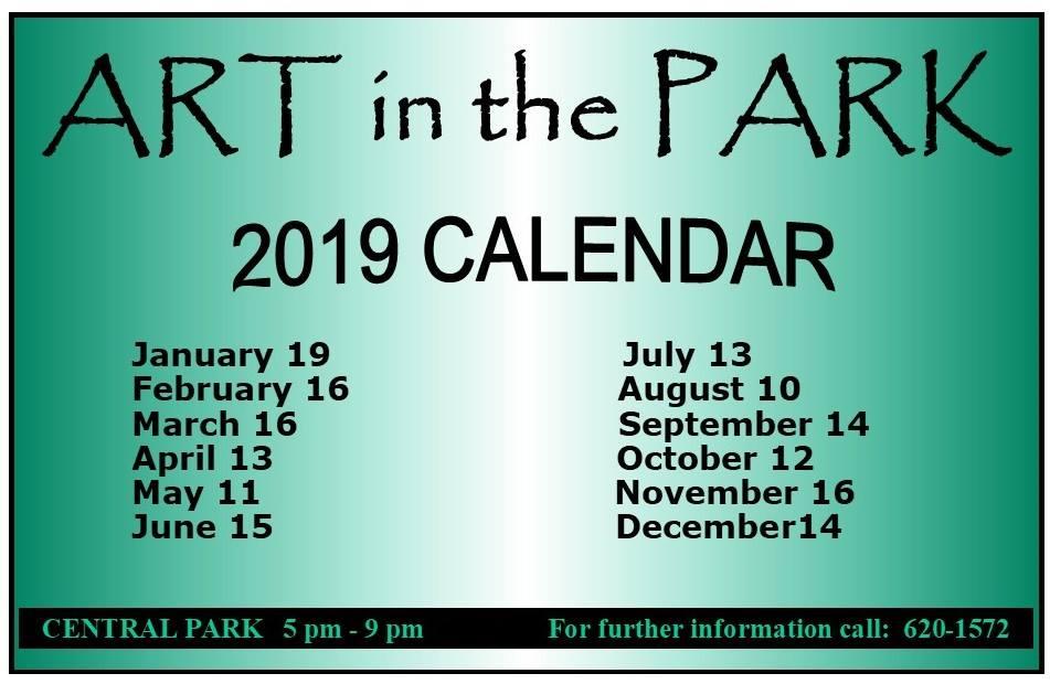 Arrt In The Park held in Corozal