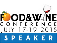 Food & Wine Conference July 2015