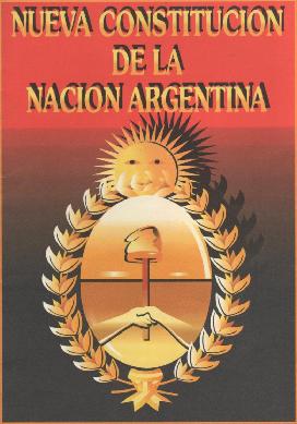 CONSTITUCIÓN NACIONAL ARGENTINA. Fiesta 01 de Mayo
