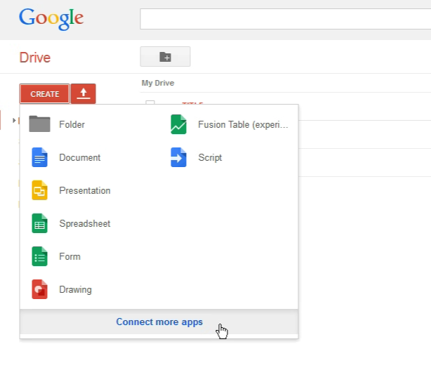 connect more apps to google drive