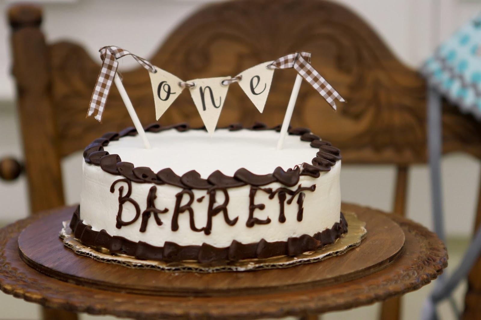 The Horton House: Barrett's Winter ONEderland Party