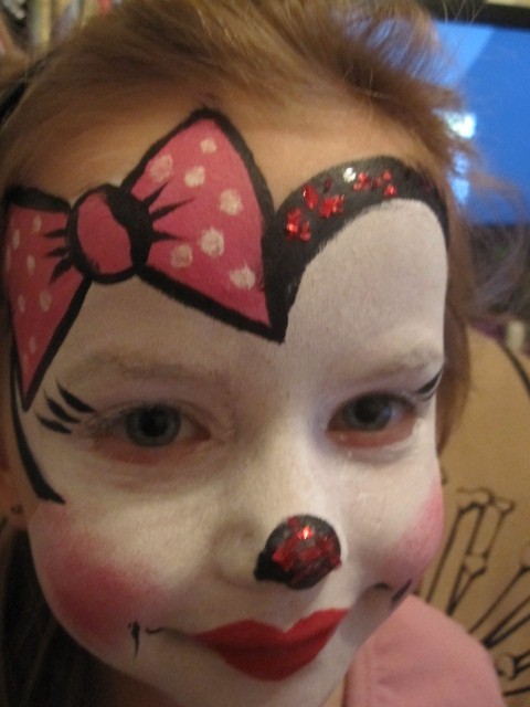 Mouse Halloween Face Paint