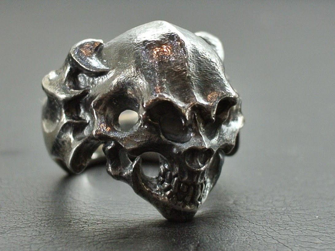 Strange Freak Designs - Rogue Skull Ring