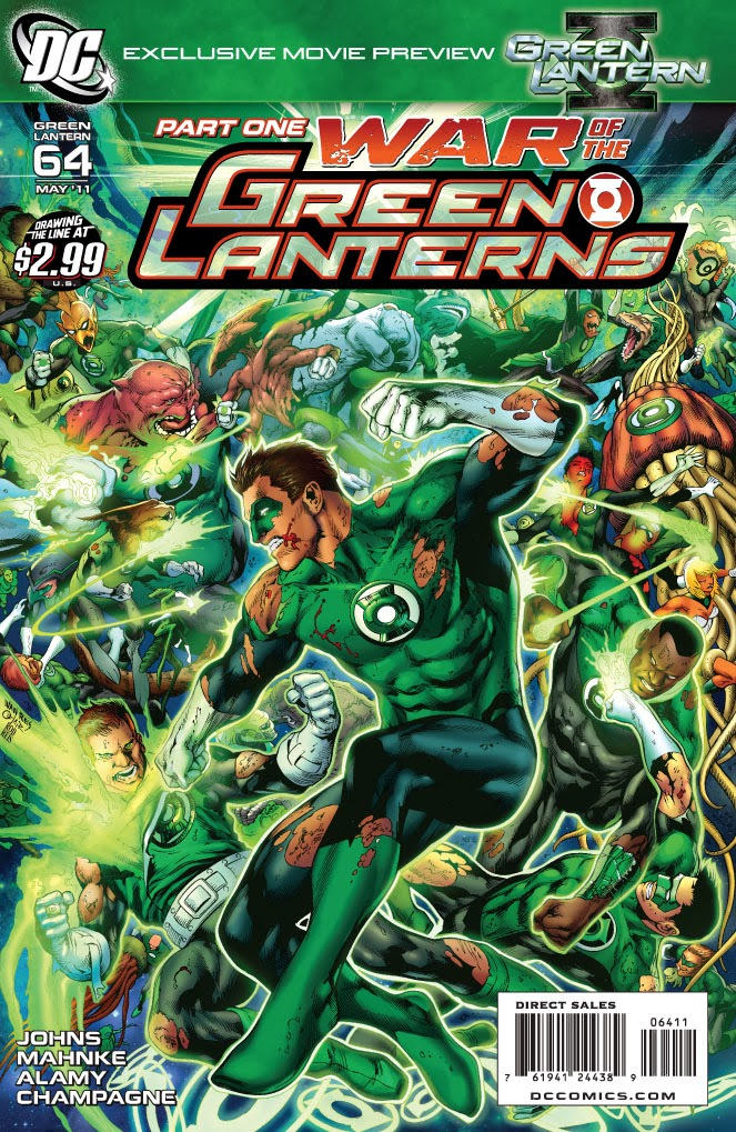 Adn collections: dc comics: war of the green lanterns story [parte 1]