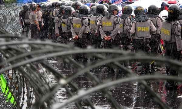 Enam Ribu Polisi Amankan HUT Jakarta