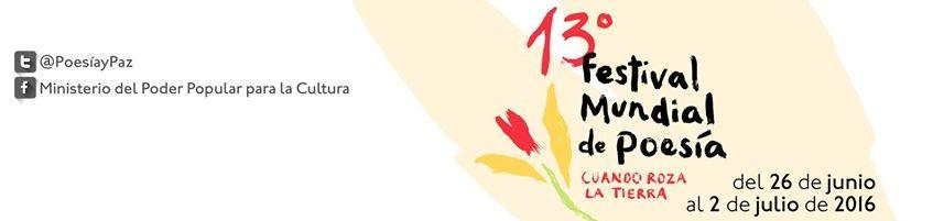 13º Festival Mundial de Poesía