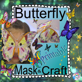 Butterfly Mask and Flying Butterfly