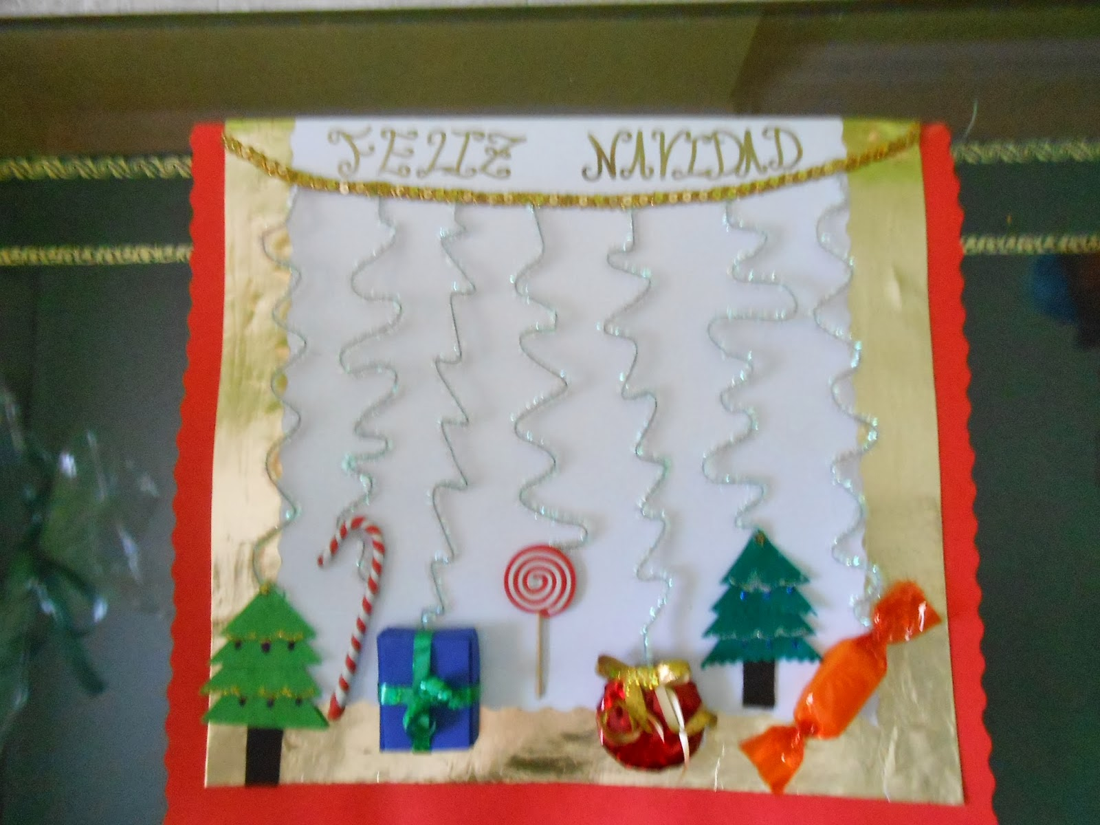 Educaci n infantil ceip padre manjon intercambios de - Postal navidena infantil ...