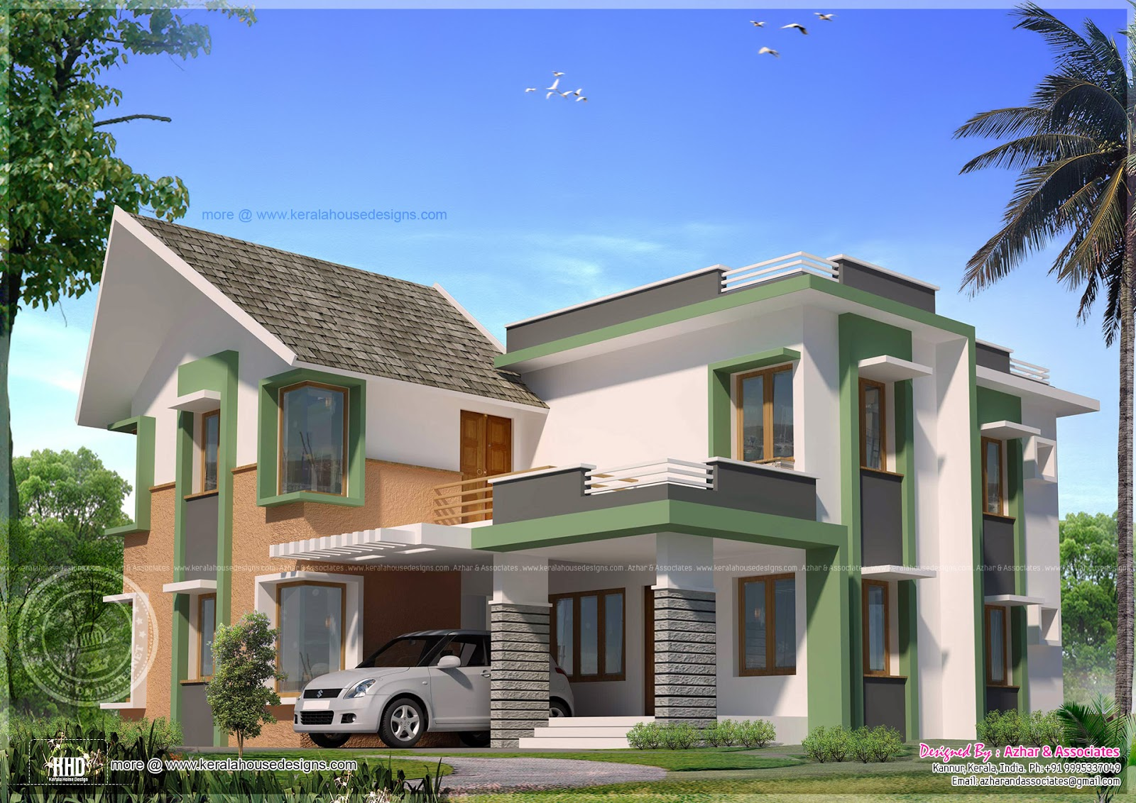 Modern exterior elevation drawing houses plans designs for Exterior house drawing