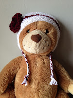 Crocheted Earflap Winter Hat