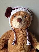 Crocheted Earflap Winter Hat