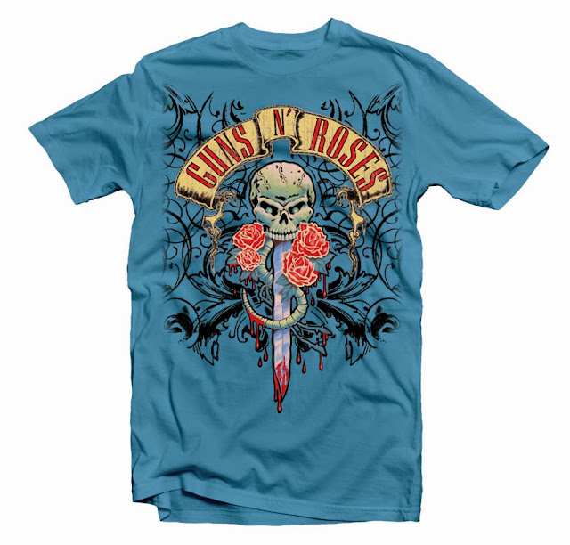 guns roses tshirt