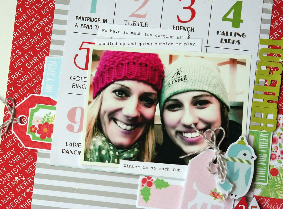 Elizabeth Hellum Chickaniddy Crafts Winter Layout 3