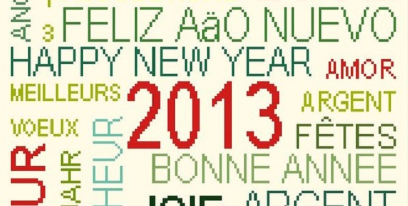 SMS pour dire bonne année 2015