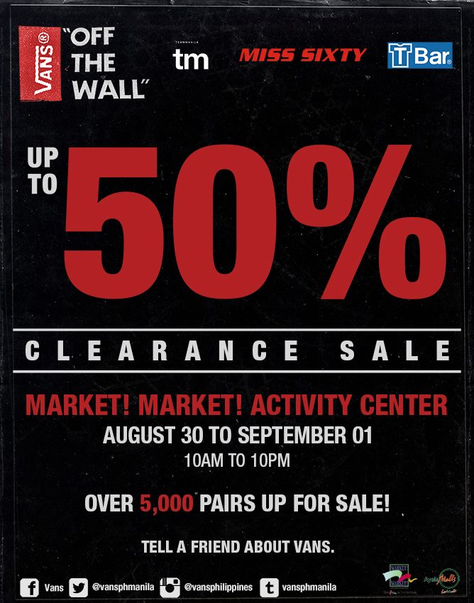vans shoes clearance sale philippines