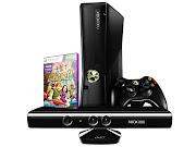 . sobre o nosso novo sorteio de um Xbox 360 Slim ( 4 GB ), mais o Kinect, .