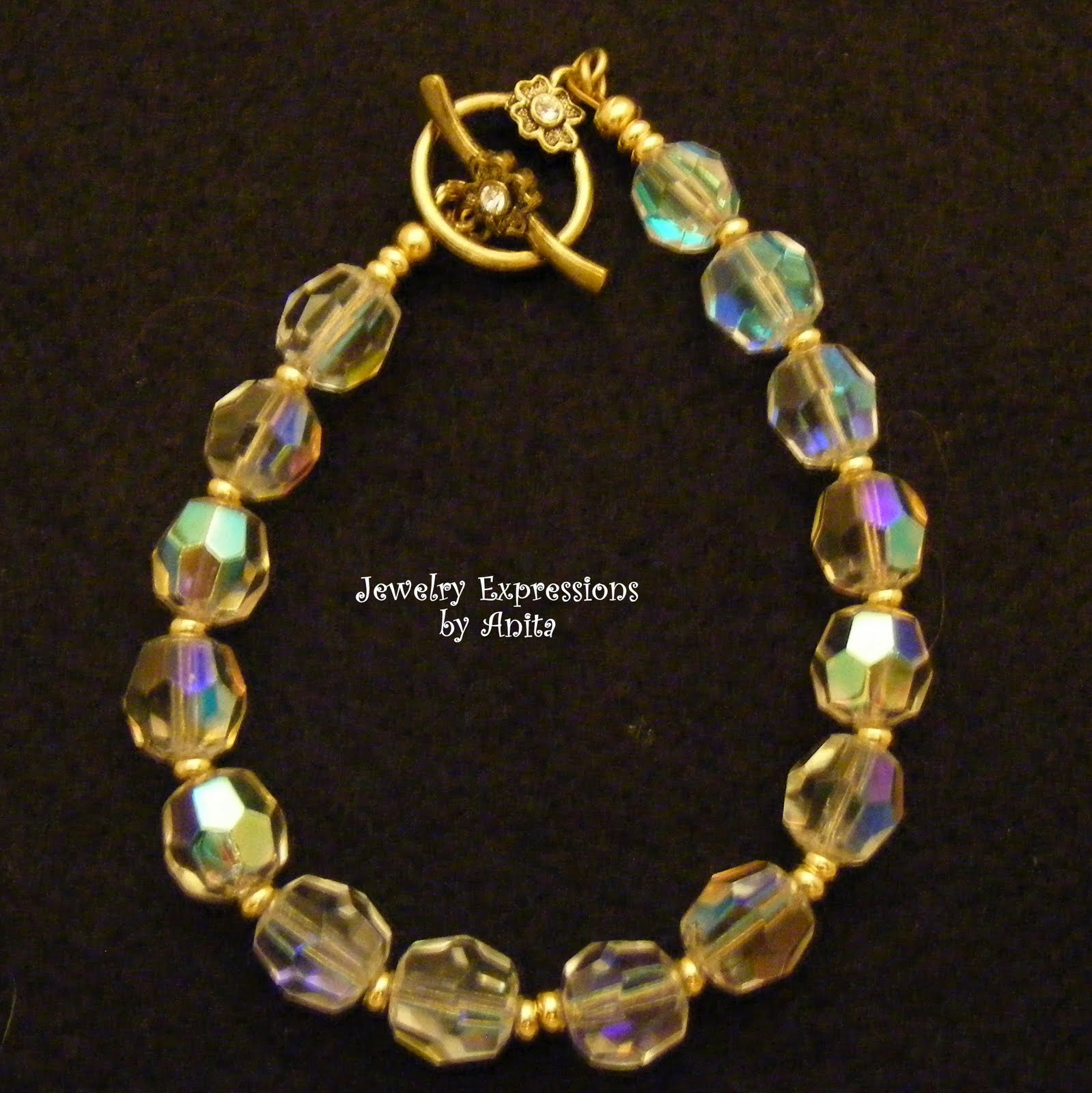 jewelry expressions by vintage crystals re created